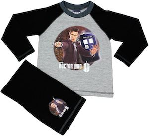 Dr. Who 11th Doctor Kids Pajama