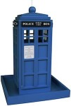 Dr. Who Tardis Bird Feeder