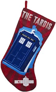 Doctor Who The Tardis Christmas Stocking