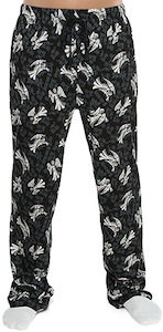 Dr. Who Weeping Angel Pajama Pants