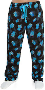 Tardis Tumbling All Over Pajama Pants