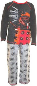 Dr. Who Dalek Kids boys Pajamas For Ages 4 - 12