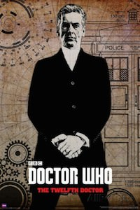 Dr. Who The Twelfth Doctor Poster