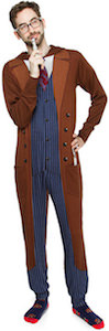 Doctor Who 10th Doctor One Piece Costume Pajama