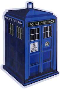 Tardis 3D Sticker