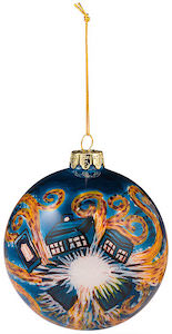 Doctor Who Exploding Tardis Christmas tree Ornament
