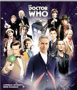 Dr. Who poster calendar 2015