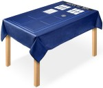 Dr. Who Tardis Tablecloth