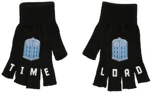 Time Lord Tardis Fingerless Gloves