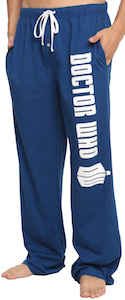 Doctor Who Logo Pajama Pants