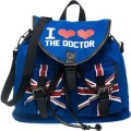 Dr. Who I Heart Heart The Doctor Convertible Slouch Backpack