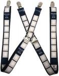 Dr. Who Tardis Police Box Suspenders