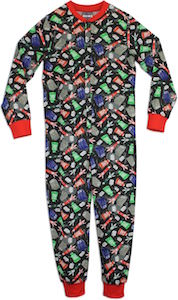 Doctor Who Kids Onesie Pajama