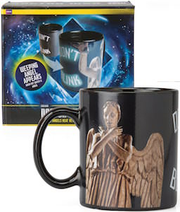 Dr. Who Weeping Angel Heath Changing Mug
