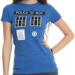 Dr. Who women's Tardis t-shirt