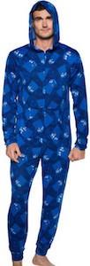 Dr. Who Tumbling Tardis Onesie Pajama