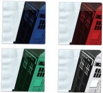 Doctor Who Colored Tardis paper Napkins