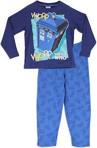 Doctor Who Tardis Vworp Vworp boys Pajama