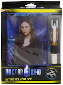 Doctor Who Amy Pond Nintendo DS Case With Sonic Screwdriver Stylus