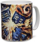 Doctor Who Exploding Tardis Coffee Mug
