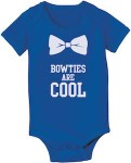 Dr. Who Bow Ties Are Cool Baby Bodysuit
