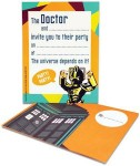 Doctor Who Cyberman Party Invitations