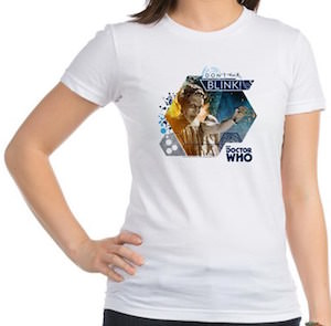 Doctor Who Weeping Angel Don't Blink T-Shirt