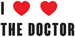 Doctor Who I Heart Heart The Doctor Temporary Tattoo