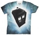 Doctor Who flying Tardis t-shirt