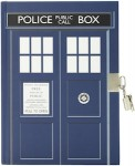 Dr Who Tardis Journal With Lock