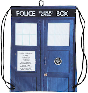 Doctor Who Tardis Cloth Back Sack