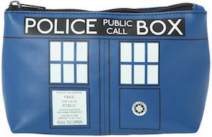 Doctor Who Tardis Cosmetic Bag