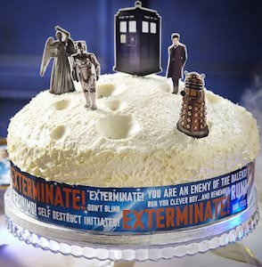 Doctor Who Cake Decoration Kit