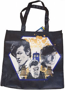 Doctor Who Day Of The Doctor Tote Bag