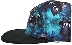 Tardis all over Doctor Who baseball cap