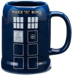 Doctor Who Tardis Ceramic beer Stein