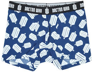 Doctor Who Logo Men's Boxer Shorts