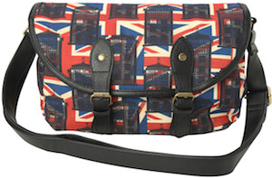 Doctor Who Union Jack Tardis Crossbody Handbag