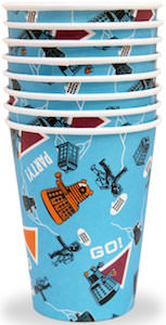 Doctor Who Paper Cups