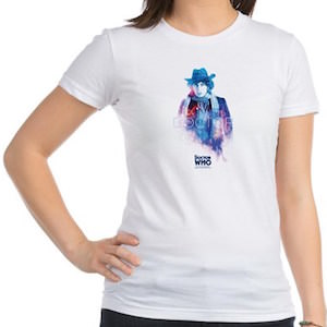Doctor Who The Fourth Doctor Galaxy T-Shirt