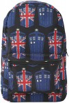 Doctor Who Tardis Union Jack Backpack