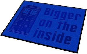 Doctor Who Tardis Bigger On The Inside Doormat