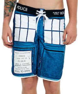 Tardis Swim Trunks