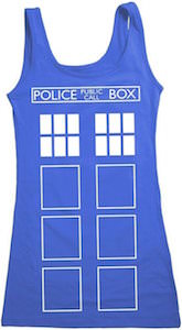 Doctor Who Tardis Women's Costume Tank Top