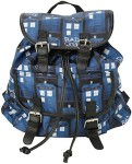 Doctor Who Tardis Bad Wolf Slouch Backpack