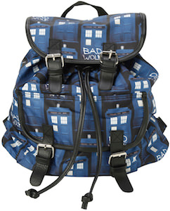 Tardis Bad Wolf Slouch Backpack