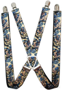 Doctor Who Exploding Tardis Suspenders