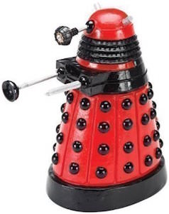 Doctor Who Red Dalek Aquarium Ornament