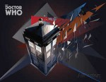 Doctor Who Tardis Geometric Poster