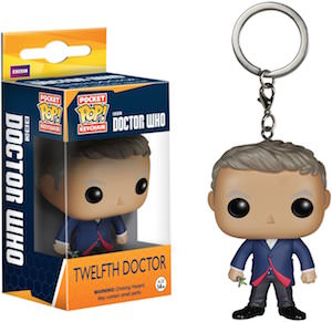 12th Doctor Pocket Pop! Key Chain